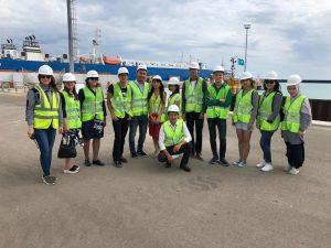 Поездка в морской порт Курык