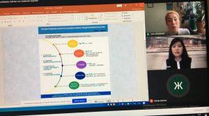 Студент жастардың бизнес қабілеттілігін арттыруға бағытталған «Training for business» онлайн семинары өтті.
