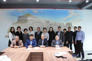 16 февраля состоялась встреча генерального консула Турции г. Актау Музаффер Акылдирим с магистрантами программ ЕМВА и МВА.